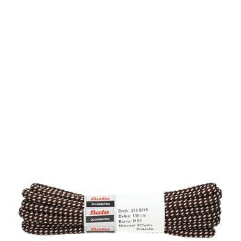 Kulaté tkaničky bata, hnědá, 901-4148 - 13