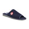 Pánská domácí obuv bata, modrá, 879-9608 - 13