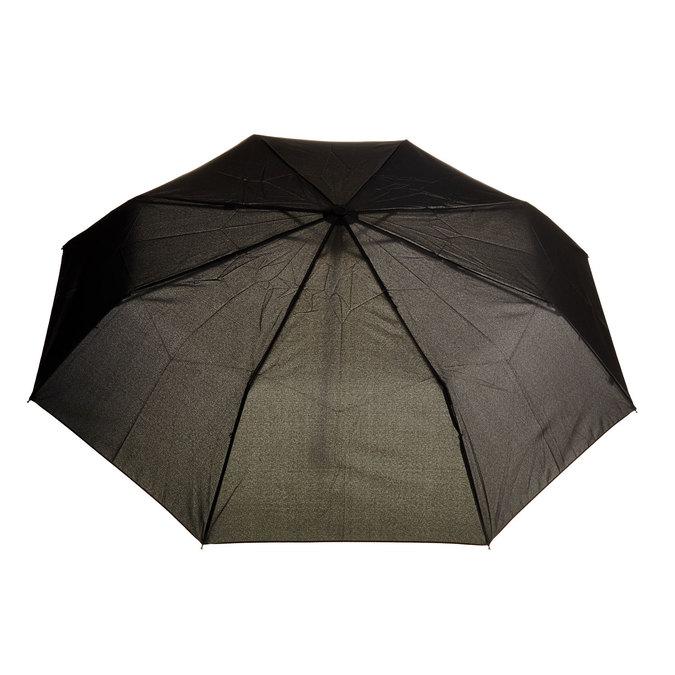 Černý skládací deštník bata, černá, 909-6600 - 26