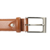 Hnědý kožený opasek pánský bata, hnědá, 954-3153 - 26