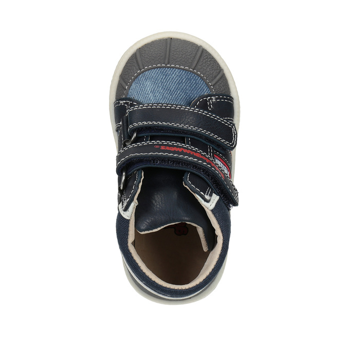 Kotníčková dětská obuv bubblegummers, modrá, 111-9613 - 19