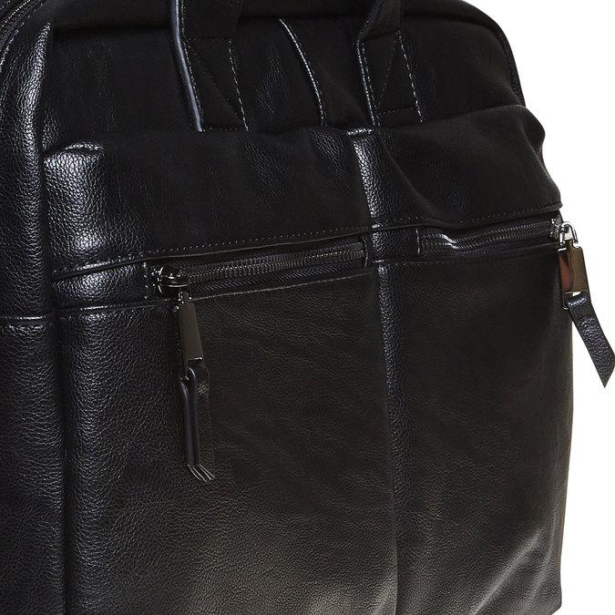 Černá brašna bata, černá, 961-6521 - 17