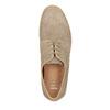 Ležérní kožené polobotky bata, béžová, 843-8623 - 19