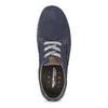 Ležérní kožené polobotky weinbrenner, modrá, 846-9631 - 17