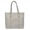 Dámská kabelka s perforovaným detailem bata, šedá, 961-2711 - 26
