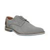 Ležérní kožené polobotky šedé bata, šedá, 823-2600 - 13