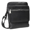 Kožená pánská Crossbody taška bata, černá, 964-6237 - 13