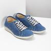 Ležérní kožené polobotky weinbrenner, modrá, 546-9603 - 26