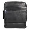 Kožená pánská Crossbody taška bata, černá, 964-6237 - 19