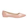 Lakované dámské baleríny bata, růžová, 521-5602 - 15
