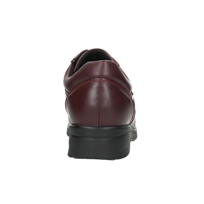 Dámská zdravotní obuv medi, červená, 544-5494 - 17