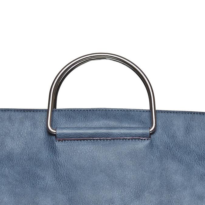 Modrá dámská kabelka bata, modrá, 961-9327 - 19