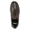 Kožené ležérní polobotky bata, hnědá, 826-4640 - 15