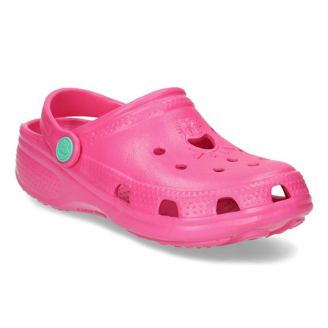 Růžové dívčí sandály coqui, růžová, 372-5604 - 13