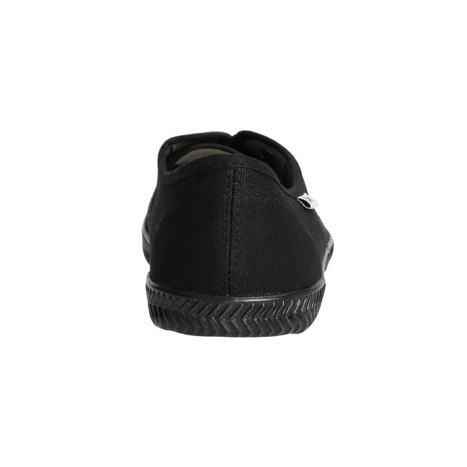 Černé dámské tenisky tomy-takkies, černá, 589-6180 - 17