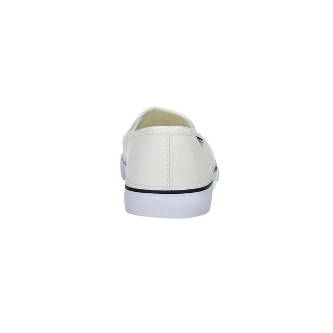 Dámská obuv ve stylu Slip-on tomy-takkies, bílá, 589-1171 - 17