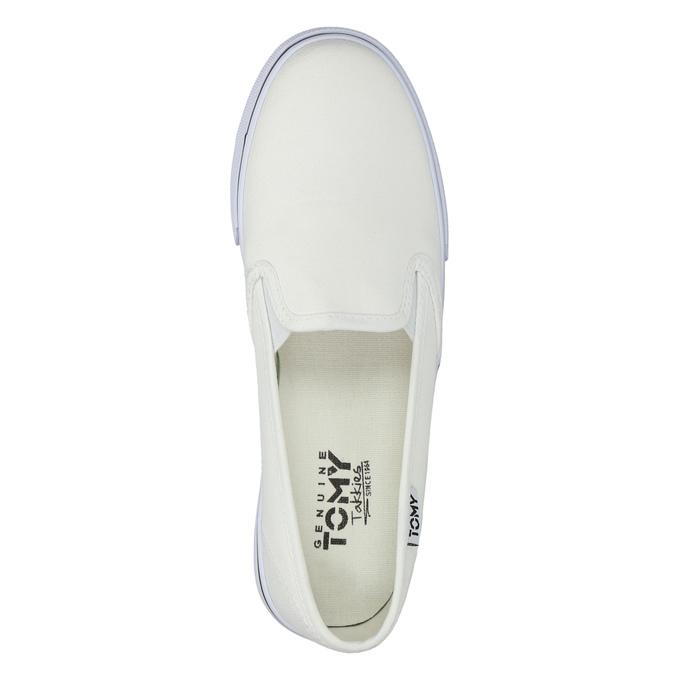 Dámská obuv ve stylu Slip-on tomy-takkies, bílá, 589-1171 - 19