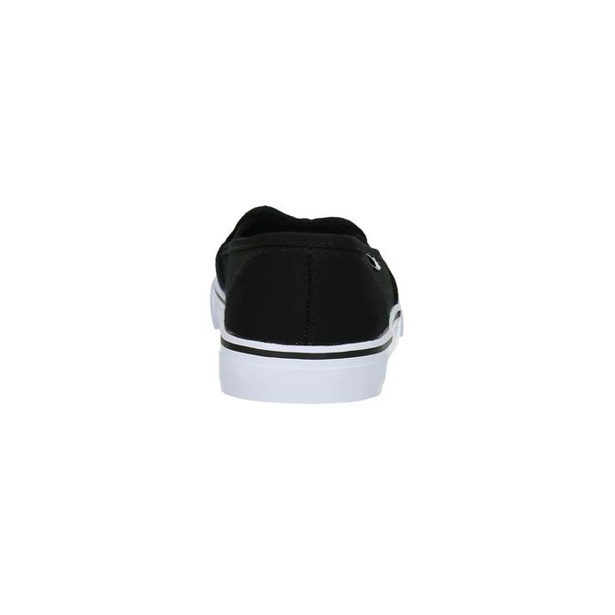Černé dámské Slip-on tomy-takkies, černá, 589-6170 - 17
