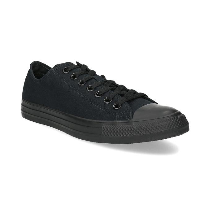 Černé textilní tenisky pánské converse, černá, 889-6279 - 13
