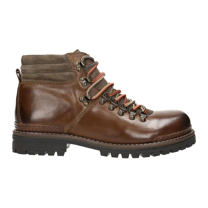 Kožená zimní obuv pánská bata, hnědá, 894-4180 - 15