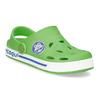 Dětské zelené sandály s žabkou coqui, zelená, 272-7603 - 13