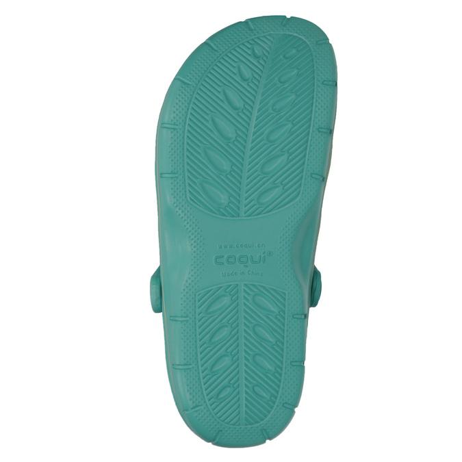 Tyrkysové dámské sandály coqui, tyrkysová, modrá, 572-9606 - 19
