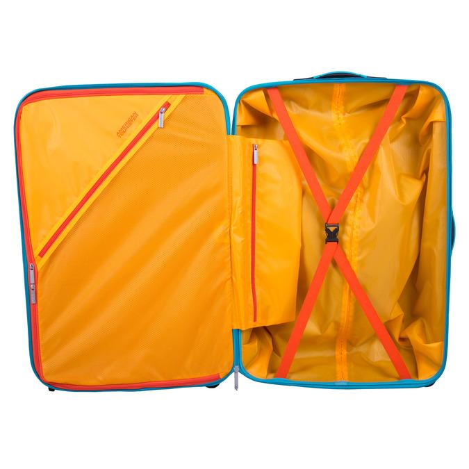 Tyrkysový cestovní kufr american-tourister, modrá, tyrkysová, 960-9607 - 17
