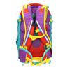 Školní batoh s přezkami satch, tyrkysová, vícebarevné, 969-9062 - 16