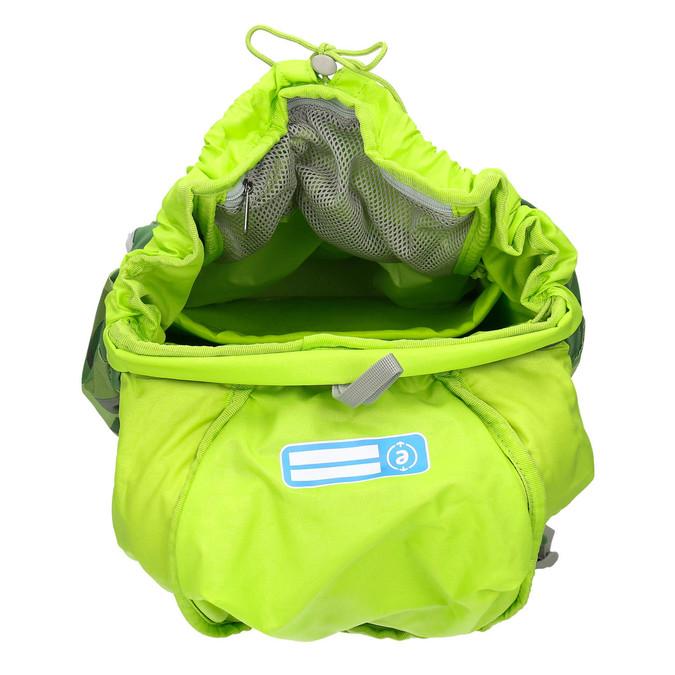 Zelený školní batoh ergobag, zelená, 969-7054 - 15