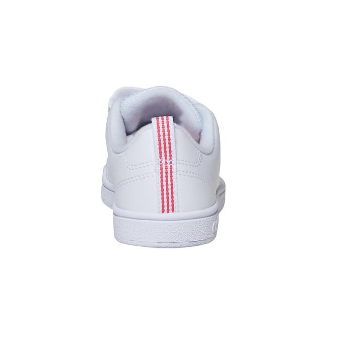 Dívčí tenisky na suché zipy adidas, bílá, 301-1268 - 17