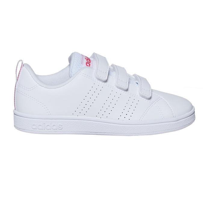 Dívčí tenisky na suché zipy adidas, bílá, 301-1268 - 15