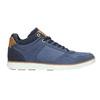 Kožené kotníčkové tenisky bata, modrá, 846-9641 - 15