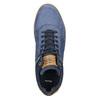 Kožené kotníčkové tenisky bata, modrá, 846-9641 - 26