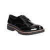 Lakované dámské polobotky bata, černá, 521-6606 - 13