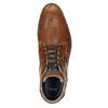 Ležérní kotníčková obuv z kůže bata, hnědá, 826-3912 - 26