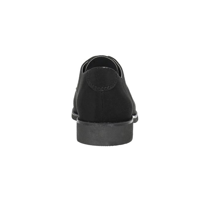 Dámské polobotky s prošitím bata, černá, 529-6632 - 17