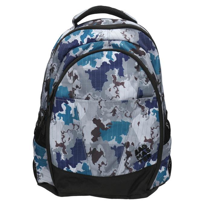 Školní batoh s potiskem bagmaster, šedá, 969-2649 - 26