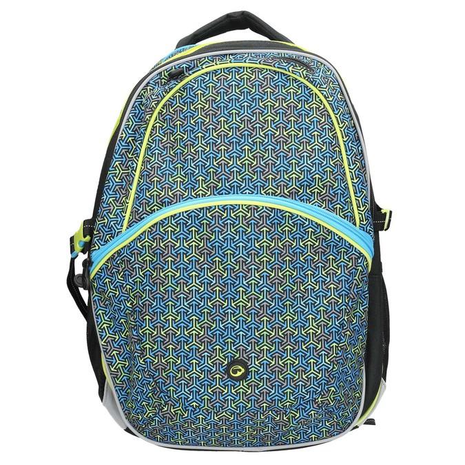 Školní batoh bagmaster, modrá, 969-7648 - 26