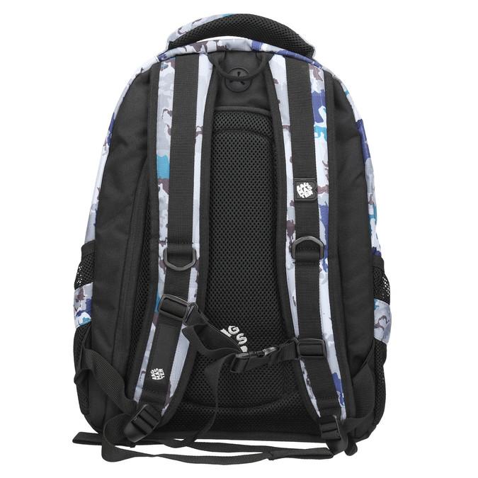 Školní batoh s potiskem bagmaster, šedá, 969-2649 - 19