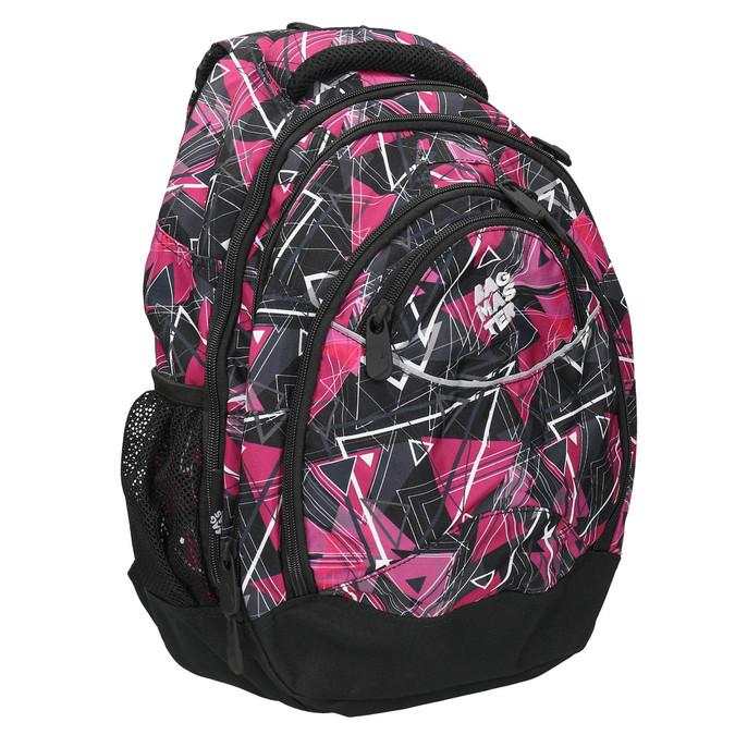 Školní batoh bagmaster, růžová, 969-5650 - 13