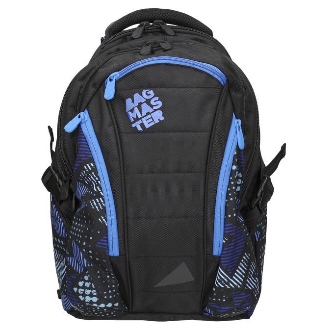 Školní batoh bagmaster, černá, 969-6658 - 26
