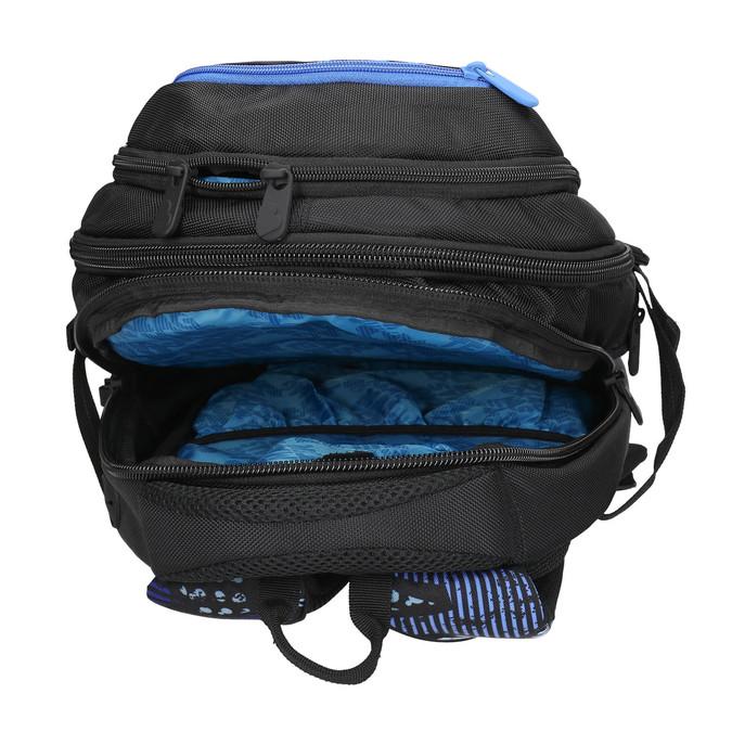 Školní batoh bagmaster, černá, 969-6658 - 15