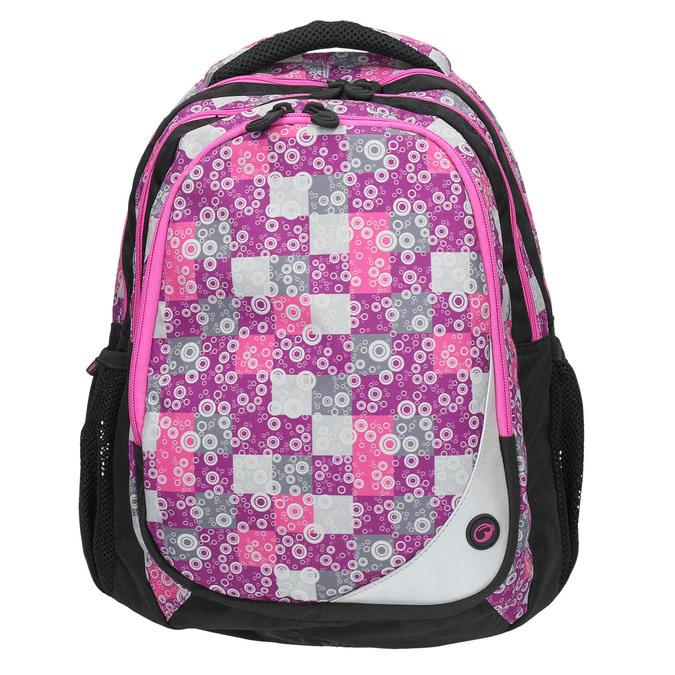 Školní batoh dívčí bagmaster, růžová, 969-5654 - 26