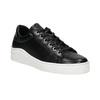 Kožené tenisky s výraznou podešví bata, černá, 526-6641 - 13