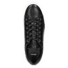 Kožené tenisky s výraznou podešví bata, černá, 526-6641 - 26