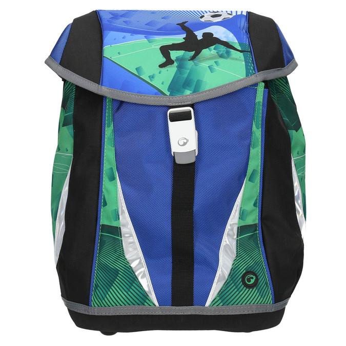 Školní aktovka chlapecká bagmaster, modrá, 969-9652 - 26
