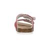 Kožené dámské pantofle de-fonseca, červená, 573-4621 - 17
