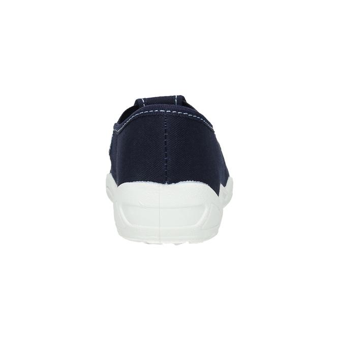 Dětské pantofle se žralokem mini-b, modrá, 379-9213 - 17