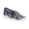 Dětská domácí obuv s kotvou mini-b, modrá, 379-2213 - 13