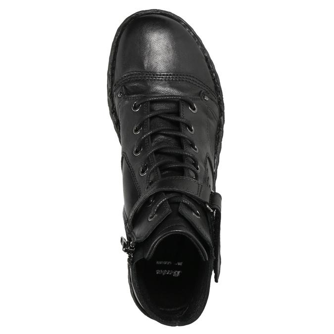 Kotníčková dámská obuv bata, černá, 596-6656 - 26